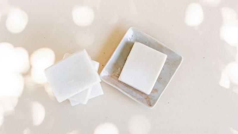 savon au lait de chevre